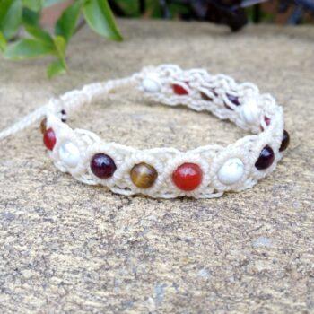 cream-macrame-gemstone-bracelet-made-by-athenas-owl-healing-and-creations-by-HalinaK