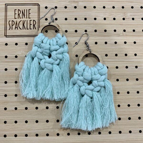 macrame-earrings-mint-by-earnie-spackler-by-erniespackler
