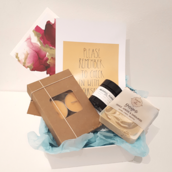 Pampering Care gift pack to treat yourself or a friend to some time out relaxation