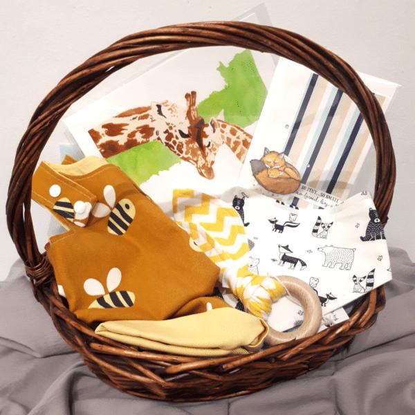 Baby Shower Gift Basket and newborn gift set