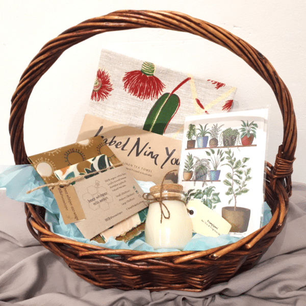 House warming new home hamper gift pack with beautiful handmade creations