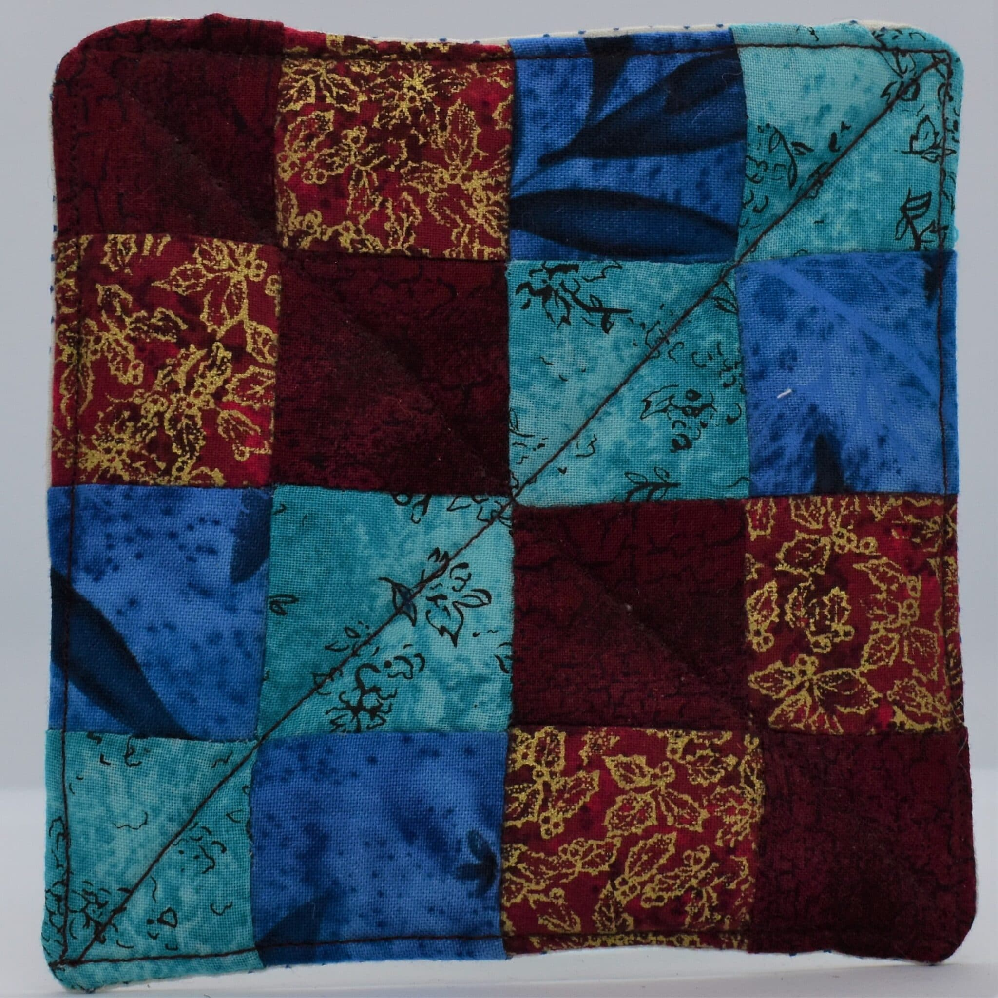 Quilted Coasters By Helen Macqueen Textile Art