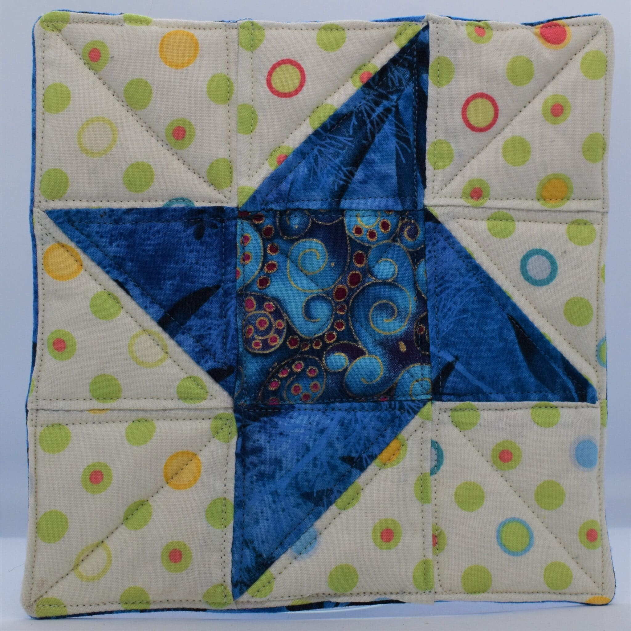 Star Trivet By Helen Macqueen Textile Art