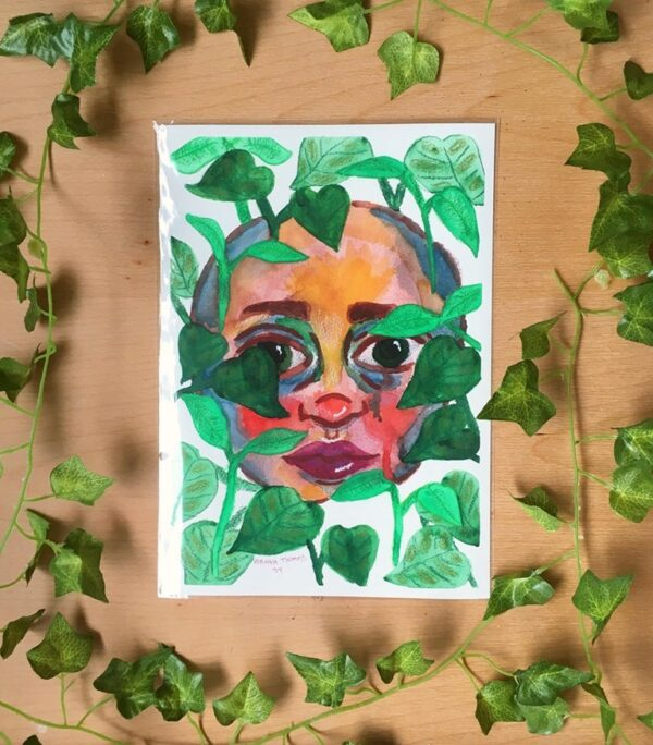 vines-a4-art-print-by-rianna-thomas-art-by-Rianna Thomas Art