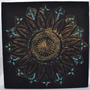 cut-glass-rose-window-beaded-print-by-helen-macqueen-textile-art-by-Msjayjay