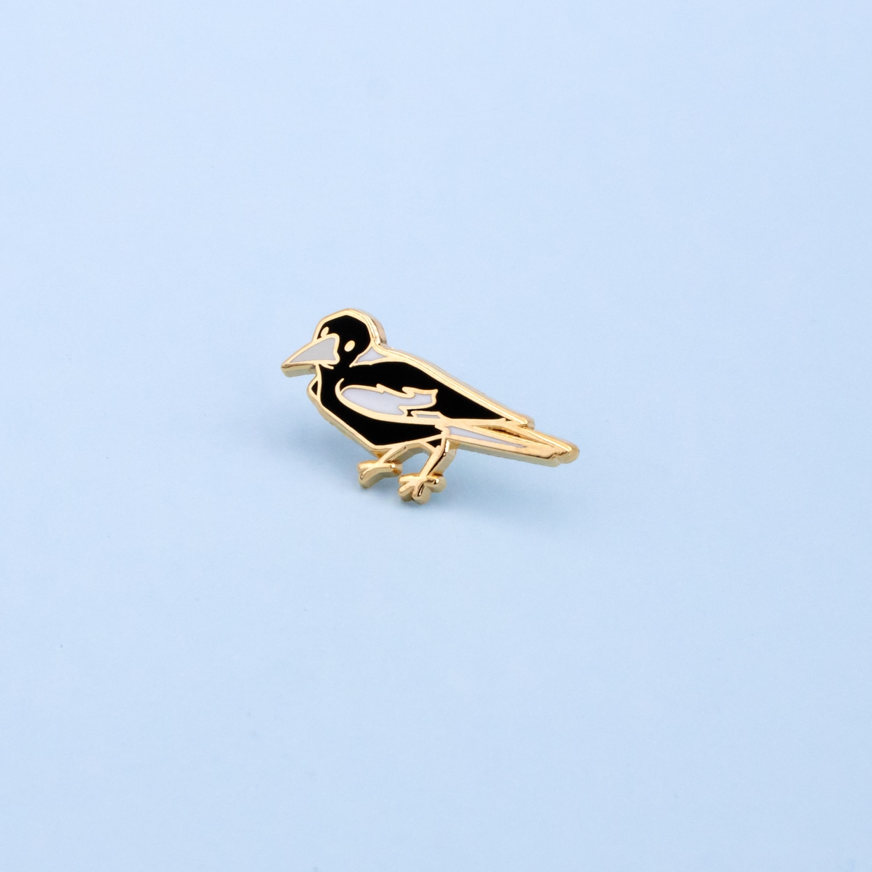 Magpie Mini Pin (Right) By Oh Jessica Jessica