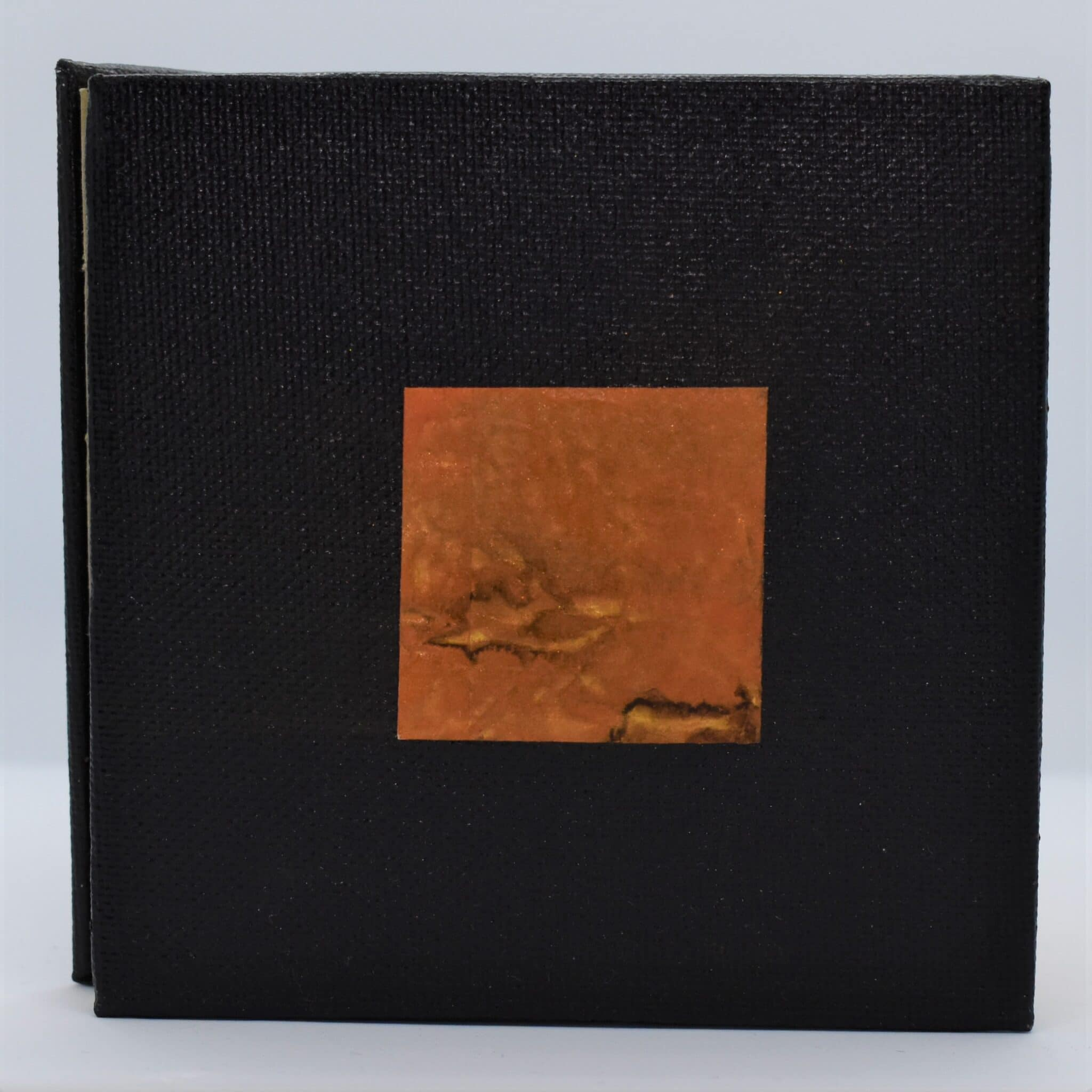 Copper Hand Bound Book By Helen Macqueen Textile Art