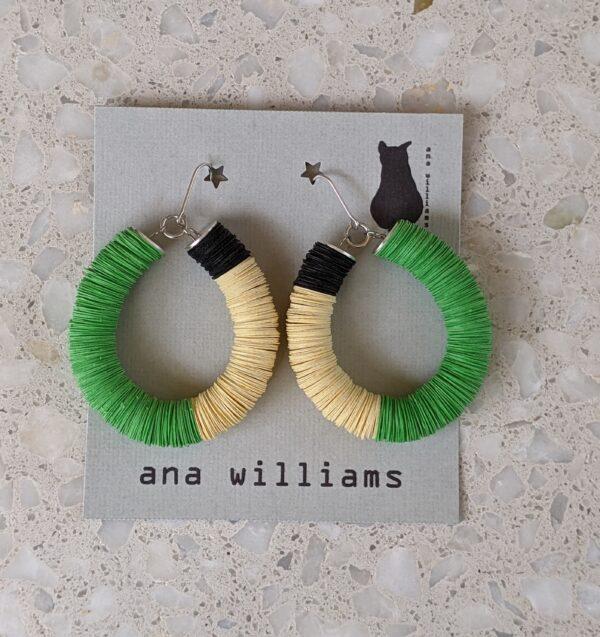 unique-tangerine-paper-reel-hoop-earrings-by-ana-williams-by-anawilliamspatterns