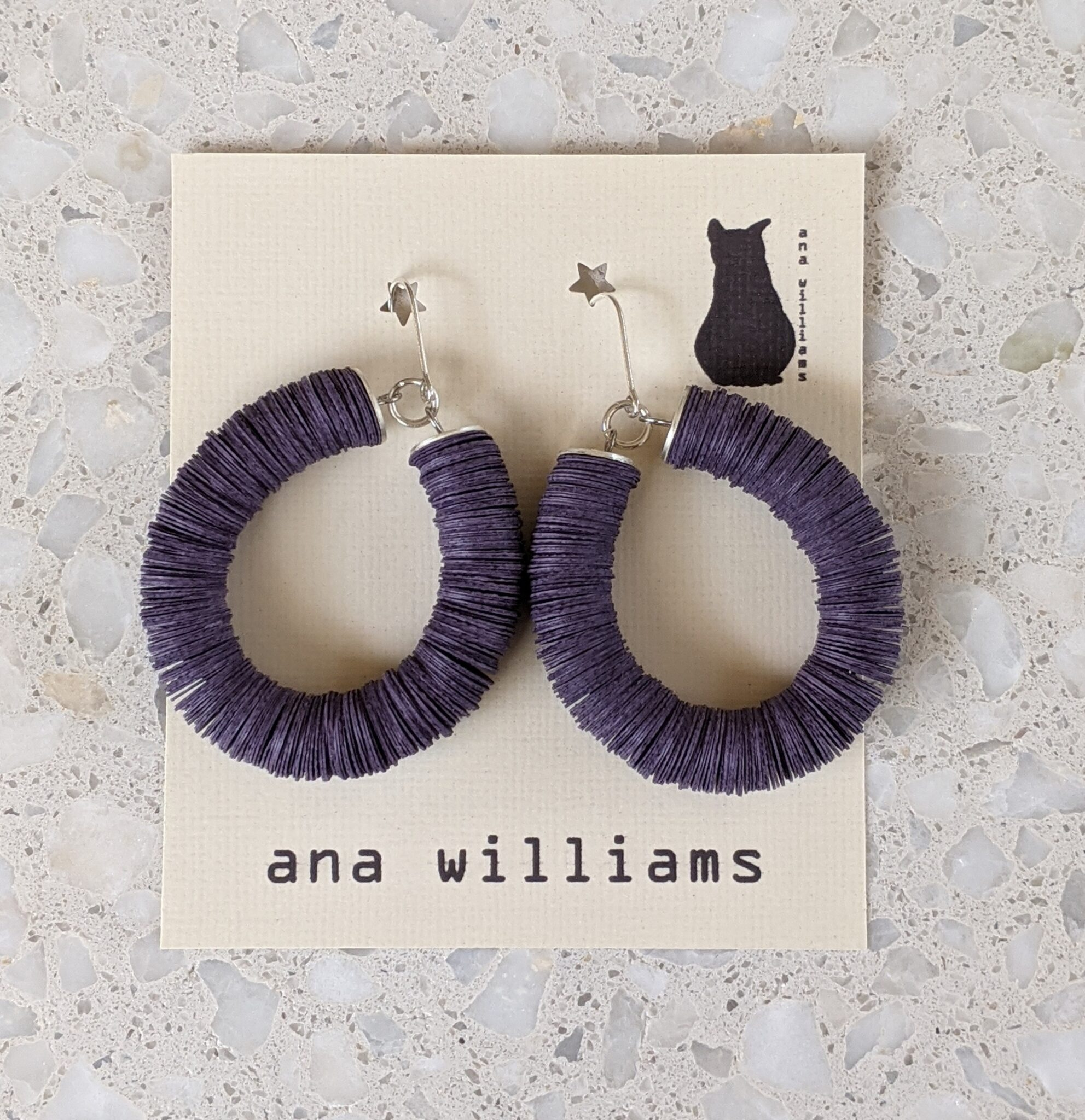 unique-violet-paper-reel-hoop-earrings-by-ana-williams-by-anawilliamspatterns