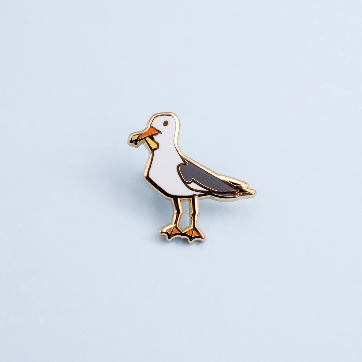 Seagull With Chip Mini Pin By Oh Jessica Jessica