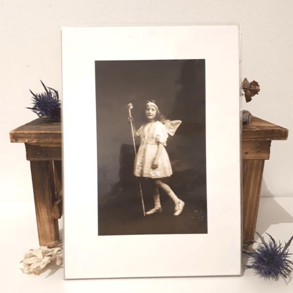 Fairy #1 - A5 archival print by Wishpom