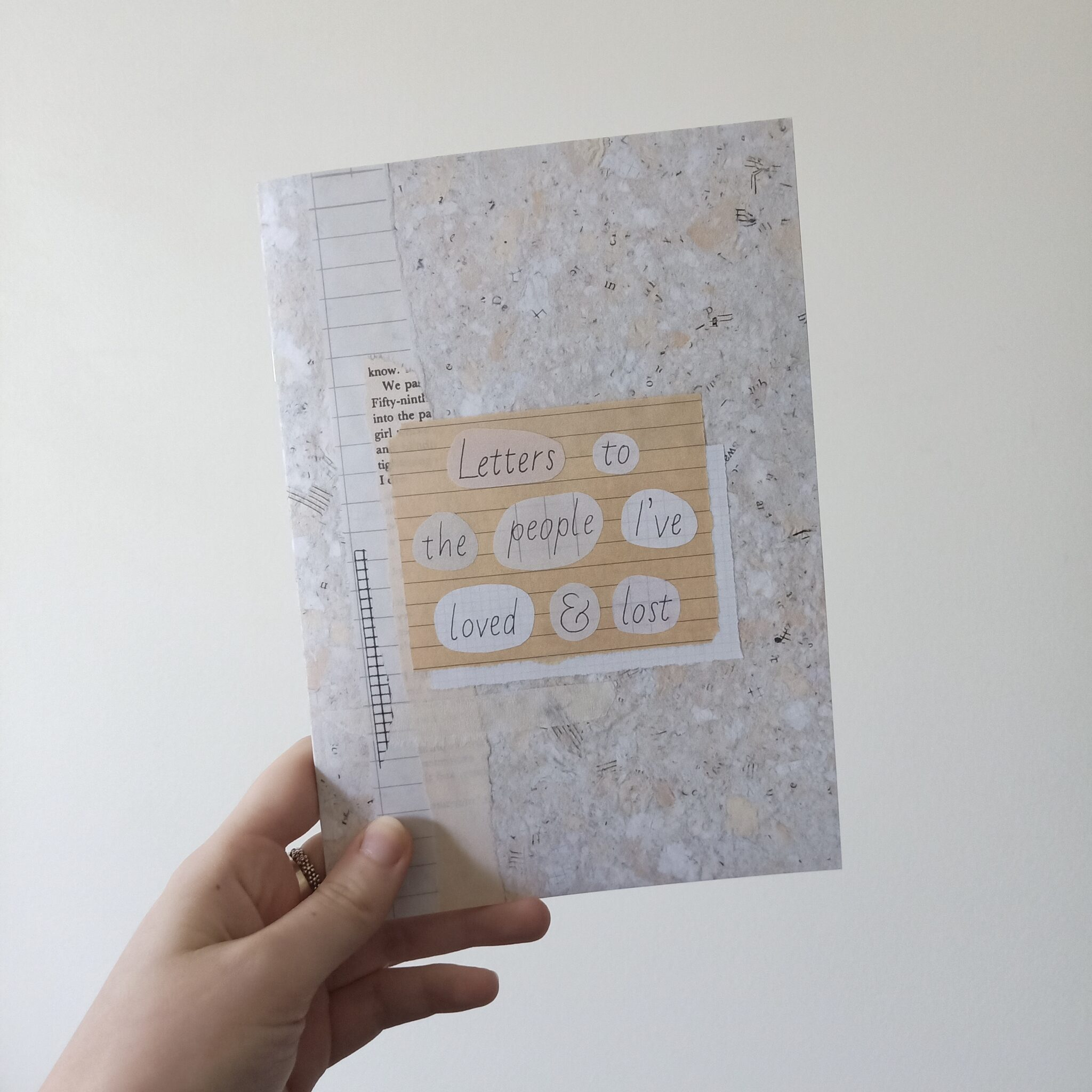 Letters To The People I've Loved & Lost Zine By Rebecca Pidgeon
