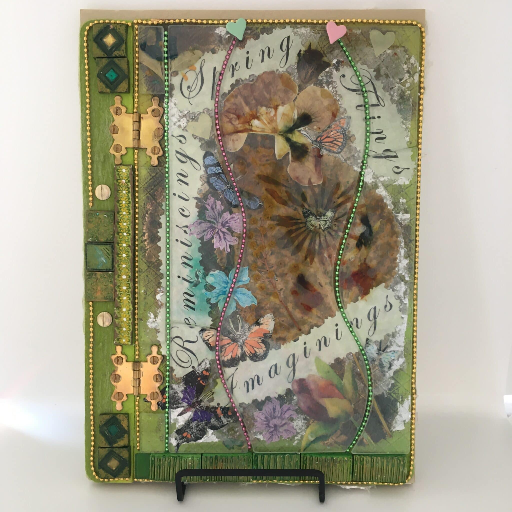 Art Journal: Spring Flings, Imaginings, Reminiscings By Amethyst Moon Art