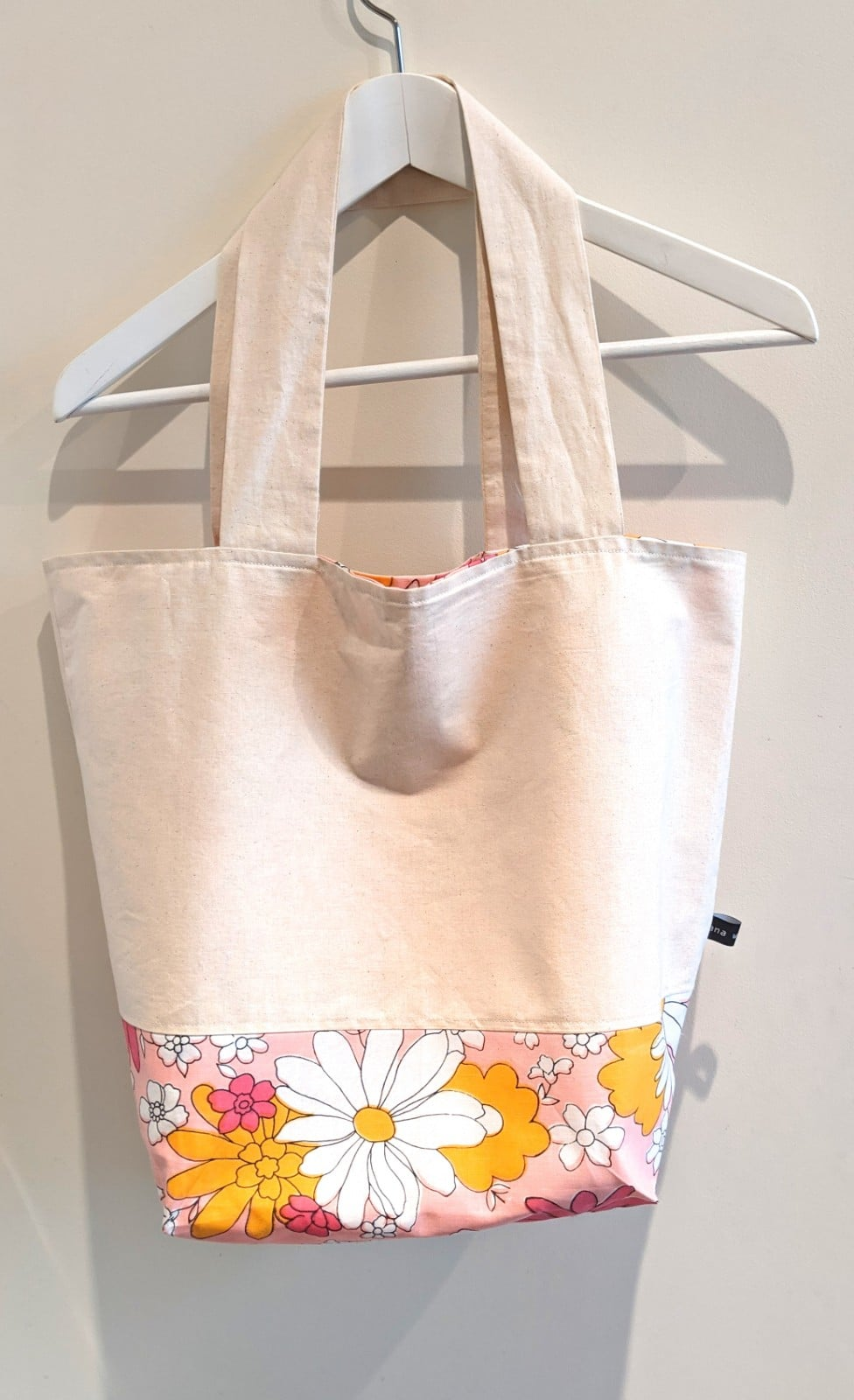 Comfortable Reversible Tote Bag – Vintage Pink Floral By Ana Williams