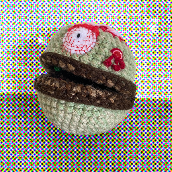 crochet-xmas-zombie-gingerbread-man-made-by-out-of-my-mind-crochet-by-jessica thompson