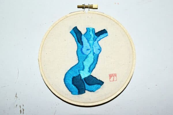 stitching-contours-mapping-bodies-hand-stitched-embroidery-original-art-blue-by-georgiarubyp-by-georgiarubyp