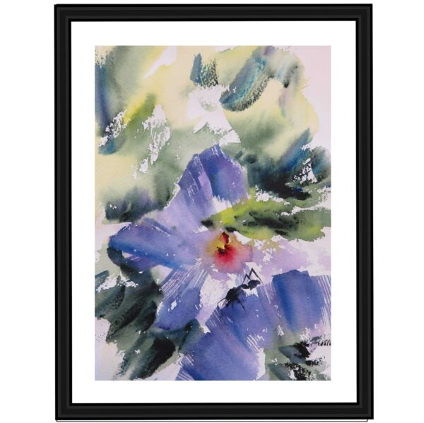 atticus-ant-watercolour-painting-a-limited-edition-giclee-print-by-artist-carin-lavery-by-Carin Lavery