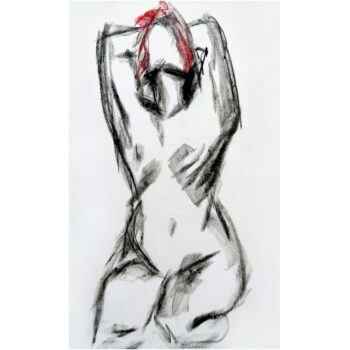 life-drawing-7-a-limited-edition-giclee-print-by-watercolour-artist-carin-lavery-by-Carin Lavery