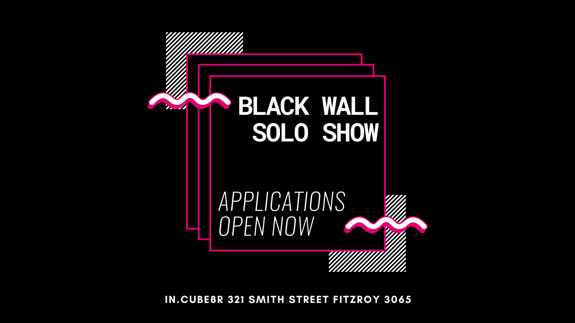 Black-wall-solo-artist-call-out