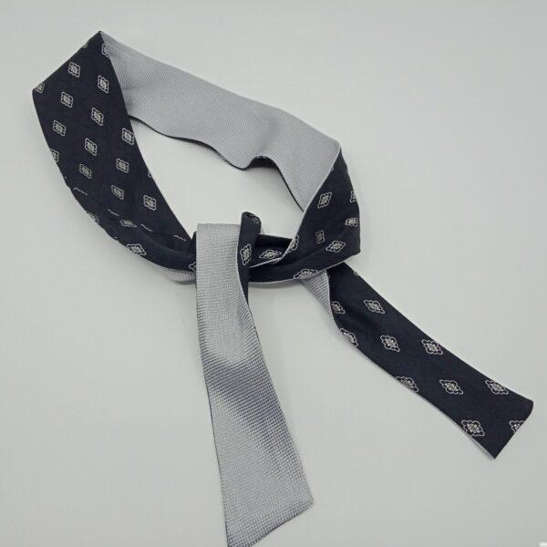 silver-and-black-silk-headband-by-judith-scott-upcycling-by-judithscott