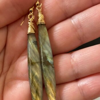 hand-cut-labradorite-long-drop-earrings-hand-wrapped-14k-gold-filled-wires-covet-and-desire-by-covetanddesire