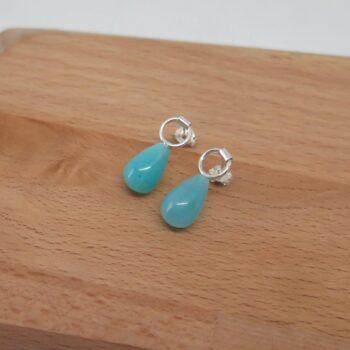 amazonite-drop-stud-earrings-by-germanoarts-by-Germano Arts