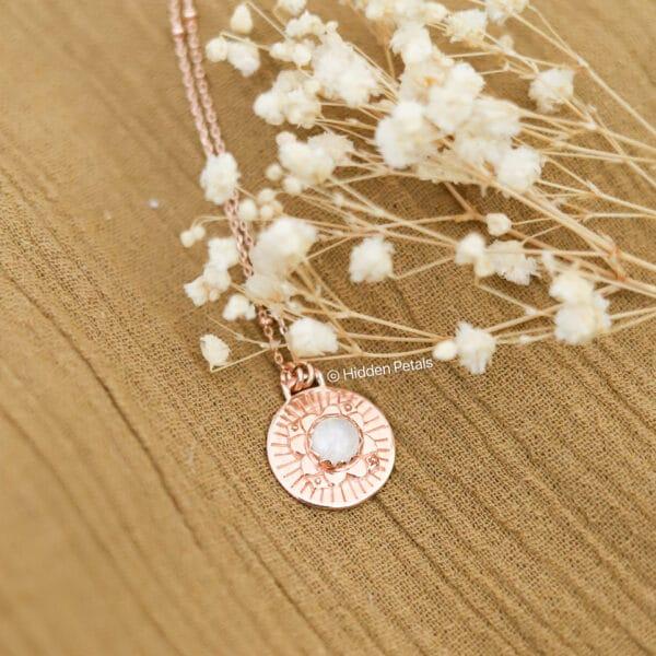 elegant-rose-gold-plated-rainbow-moonstone-necklace-by-AshleyChloe