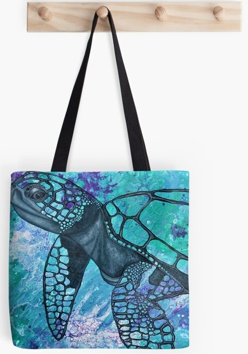 abstract-africa-tote-bag-by-gems-artistic-creations-by-Gems Artistic Creations
