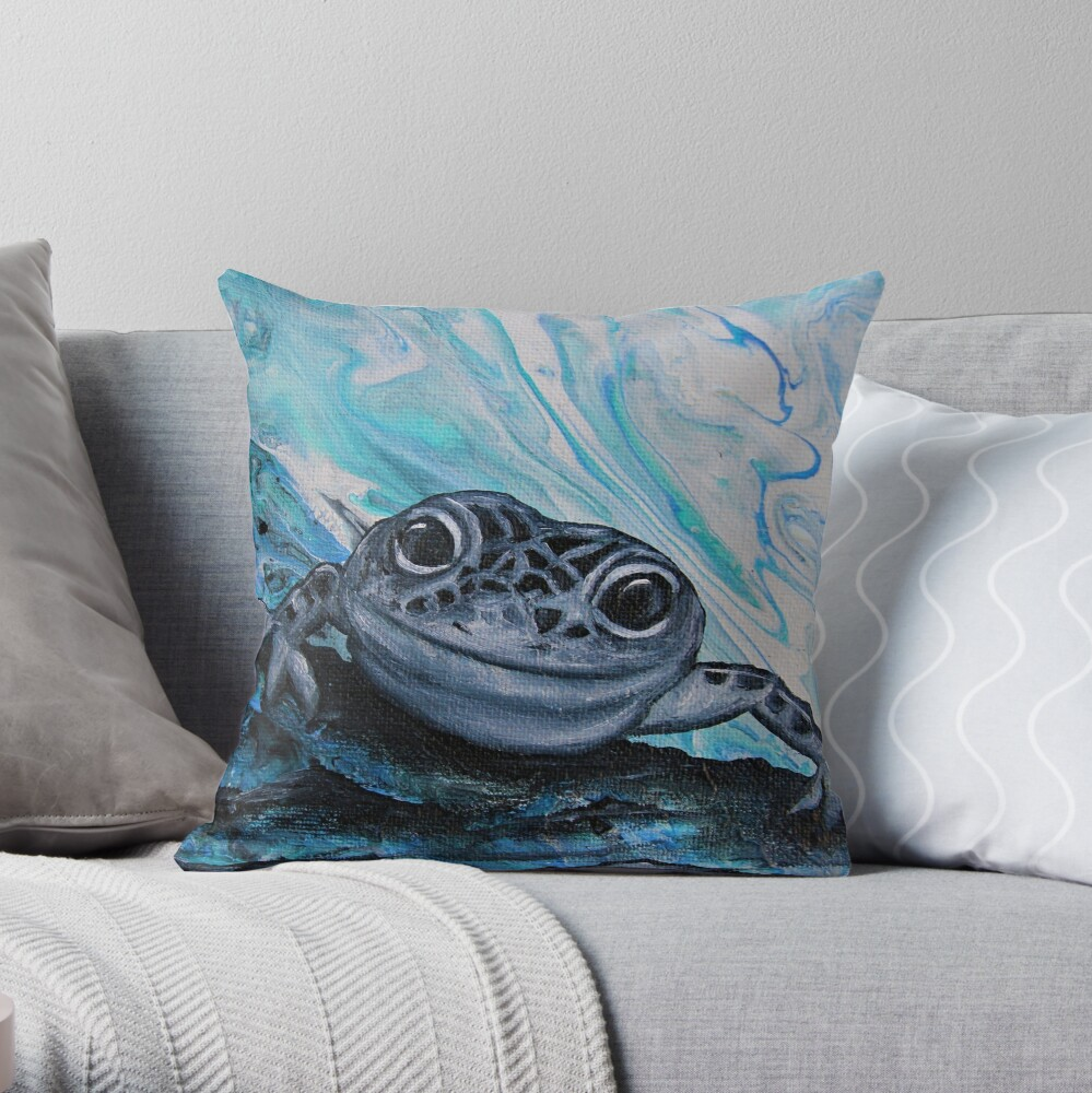 Gecko Cushion By Gem's Artistic Creations