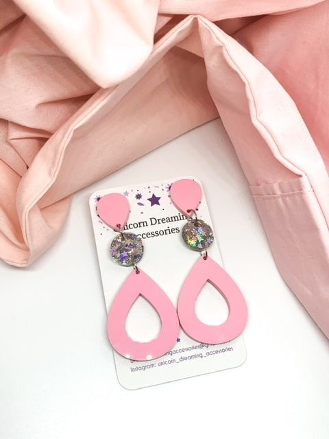 Emily Dangles Musk Pink By Unicorn Dreaming