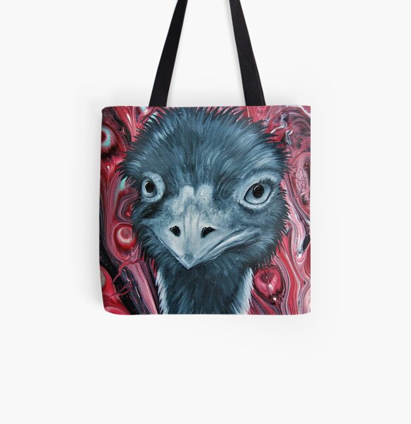 emu-tote-bag-by-Gems Artistic Creations