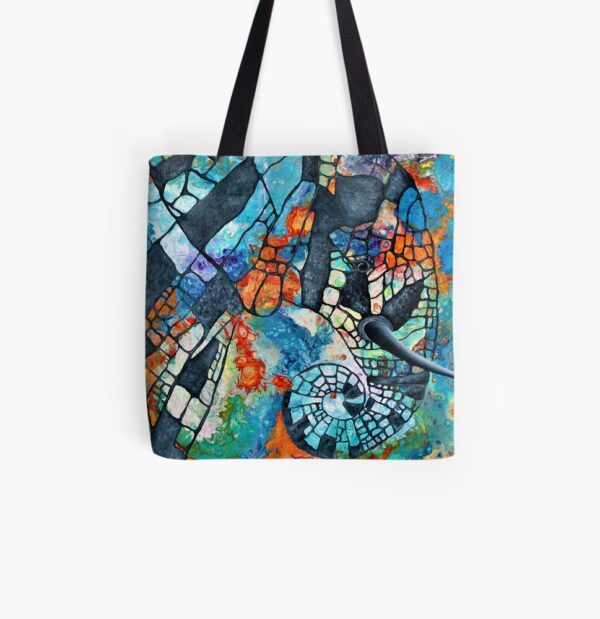 abstract-africa-tote-bag-by-Gems Artistic Creations