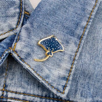 mini-eagle-ray-enamel-pin-blue-by-oh-jessica-jessica-by-ohjessica