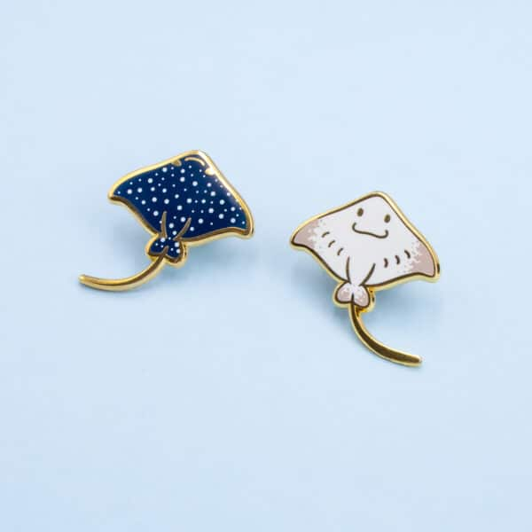 mini-eagle-ray-enamel-pin-white-by-oh-jessica-jessica-by-ohjessica