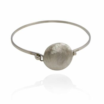 unisex-satin-finish-circle-cuff-bangle-by-sterling-silver-925-by-sterlingsilver925