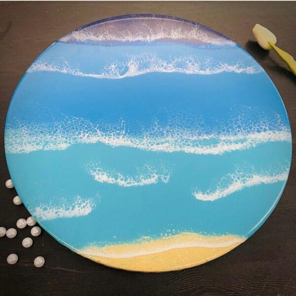 powerful-calm-original-40cm-resin-artwork-by-jantina-by-Jantina