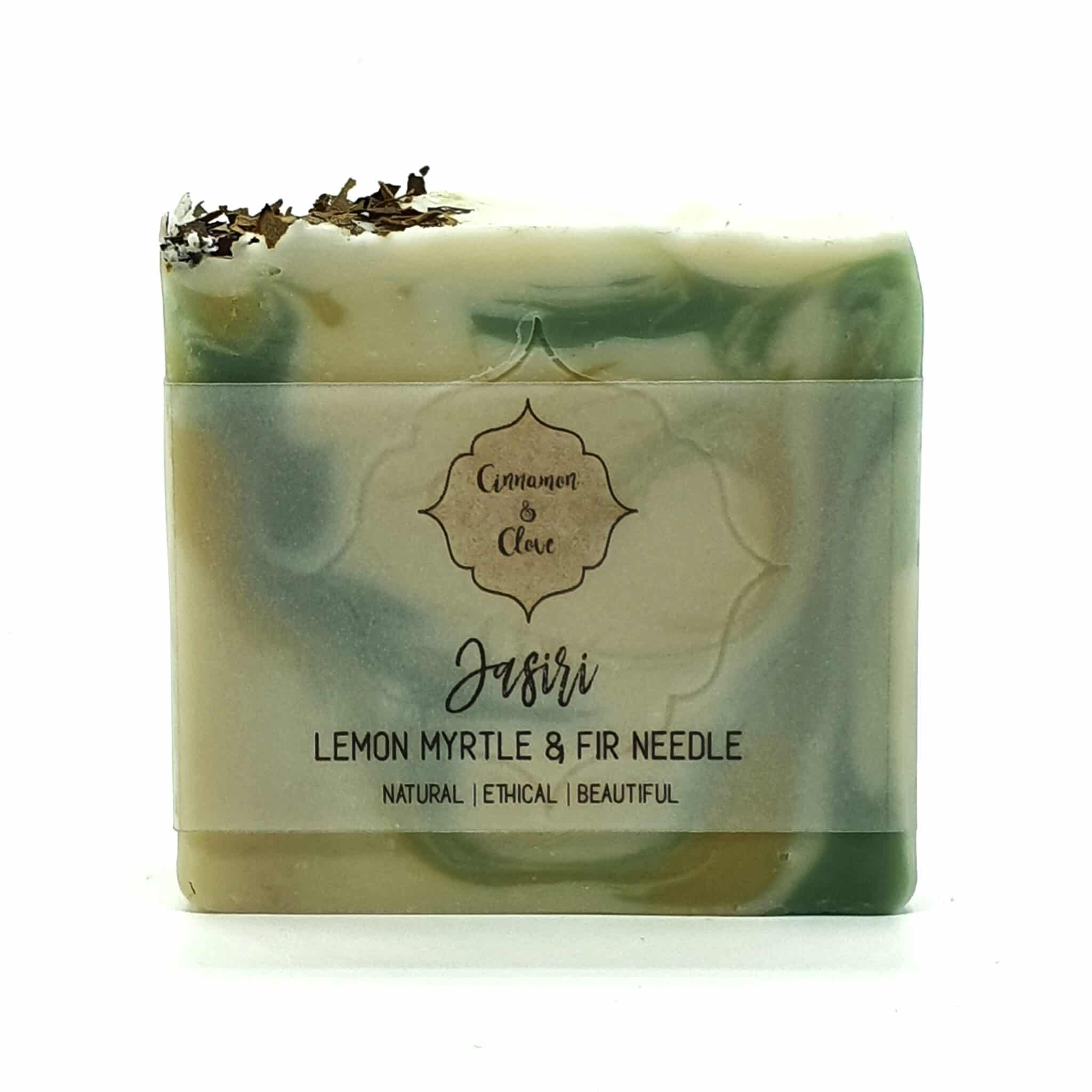 Jasiri – Handcrafted All Natural Artisan Lemon Myrtle & Pine Soap By Cinnamon And Clove