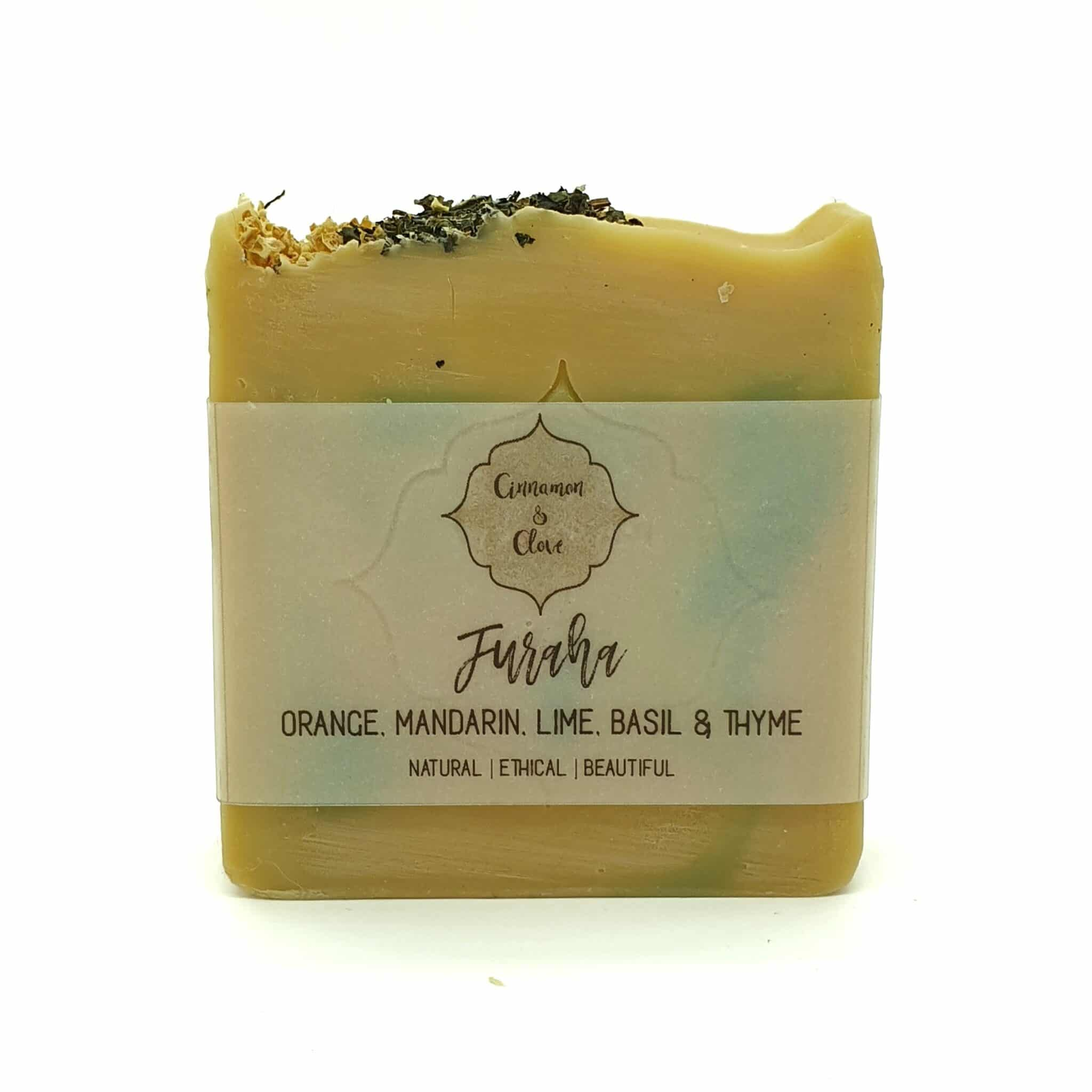 Furaha – Handcrafted All Natural Artisan Citrus Soap By Cinnamon And Clove
