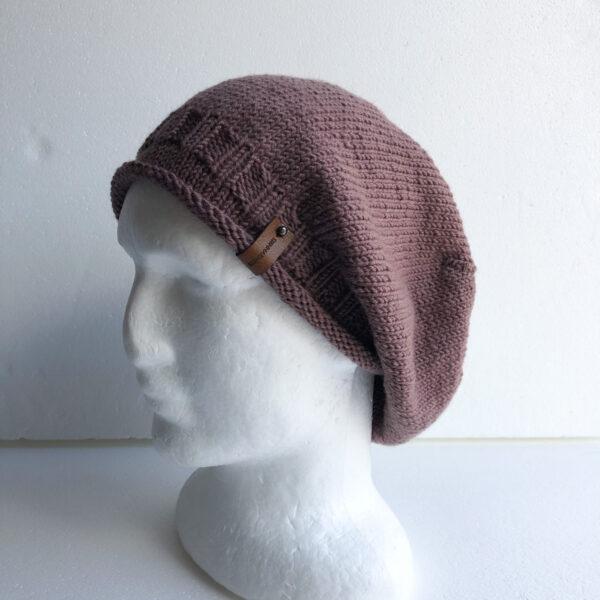 100-wool-blush-purple-knit-women-slouchy-beanie-with-roll-up-brim-by-siennaknits-by-siennaknits