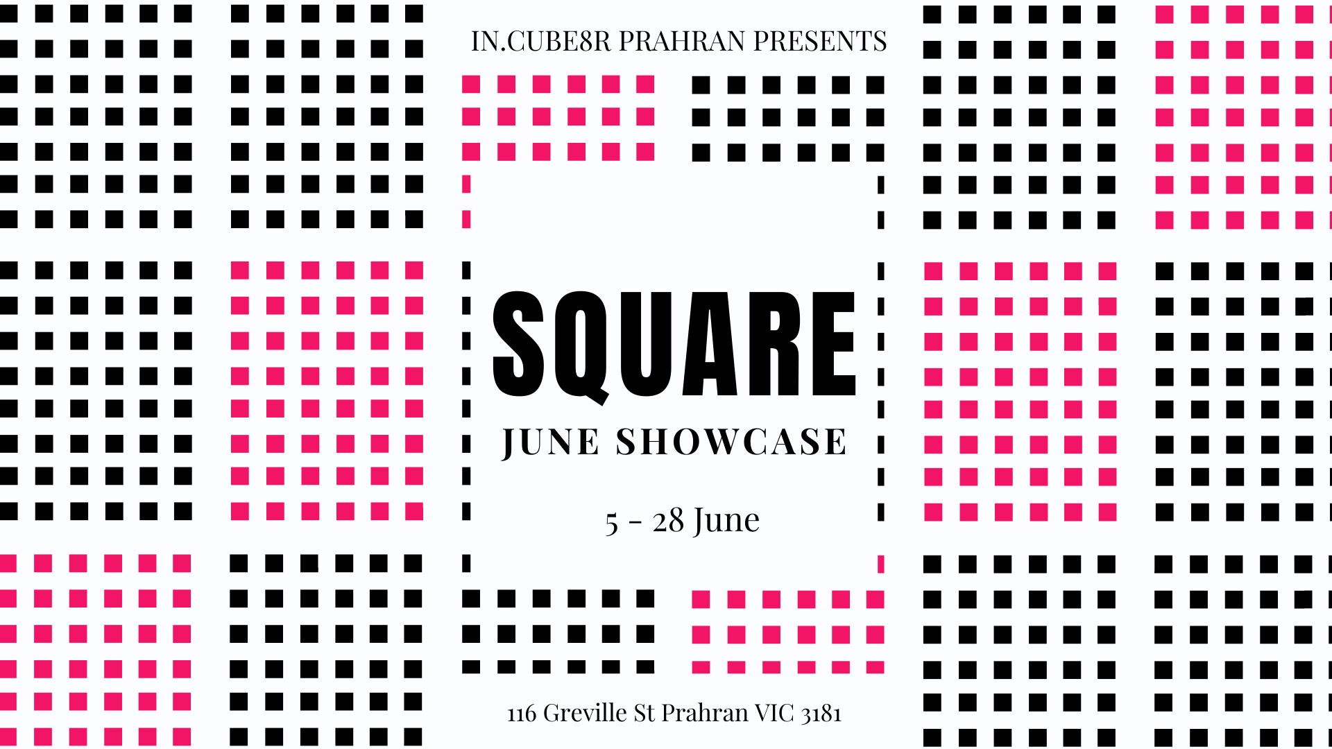 Square Exhibition Graphic