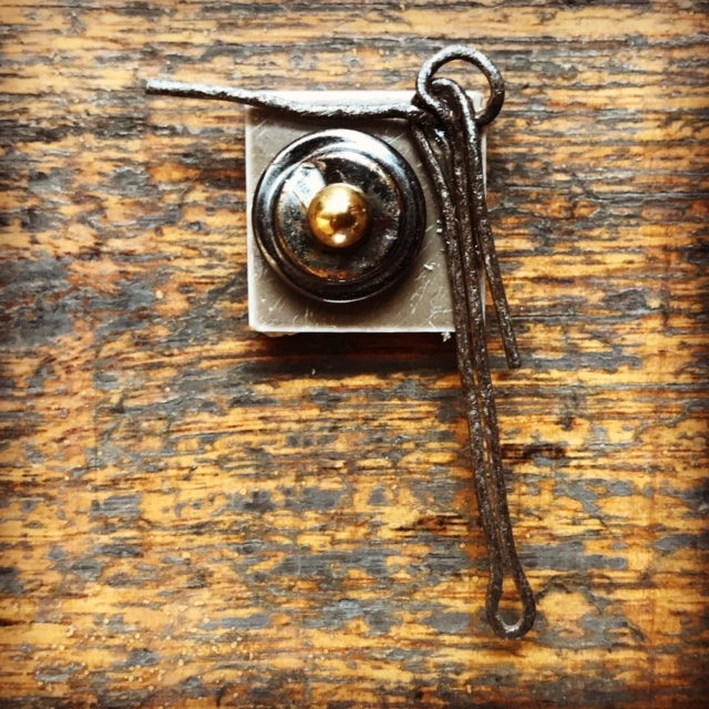 Keep Your Arm On The Ball – Handmade Brooch By NancyDee Sculptures