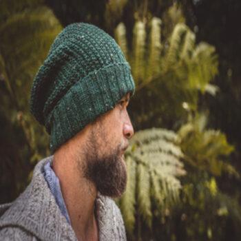 men-speckled-green-wool-knit-beanie-with-foldable-brim-by-siennaknits-by-siennaknits
