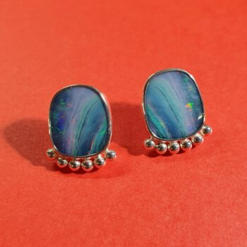 large-opal-and-balls-sterlings-silver-stud-earrings-by-flying-lobster-jewellery-by-flyinglobster