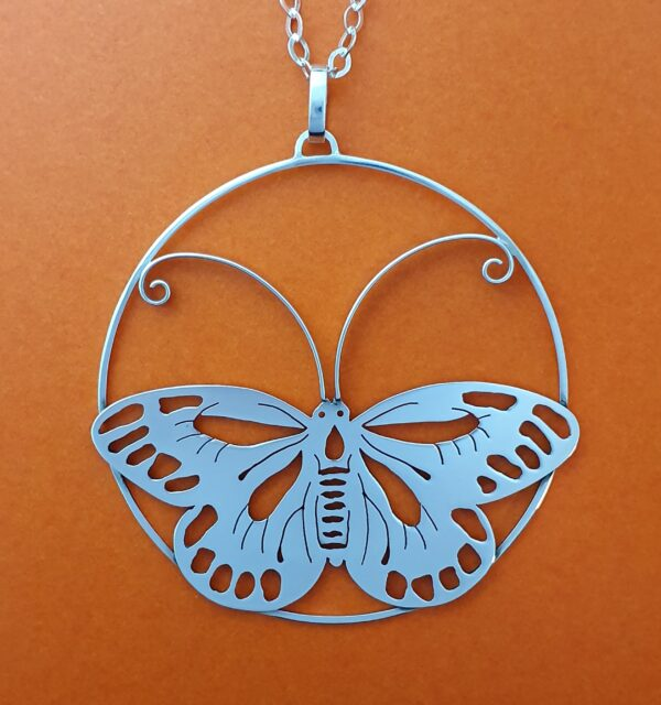 over-sized-butterfly-sterling-silver-pendant-by-flying-lobster-jewellery-by-flyinglobster