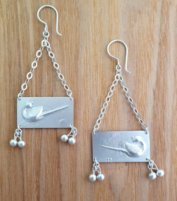 duck-weight-sterling-silver-earrings-by-flying-lobster-jewellery-by-flyinglobster