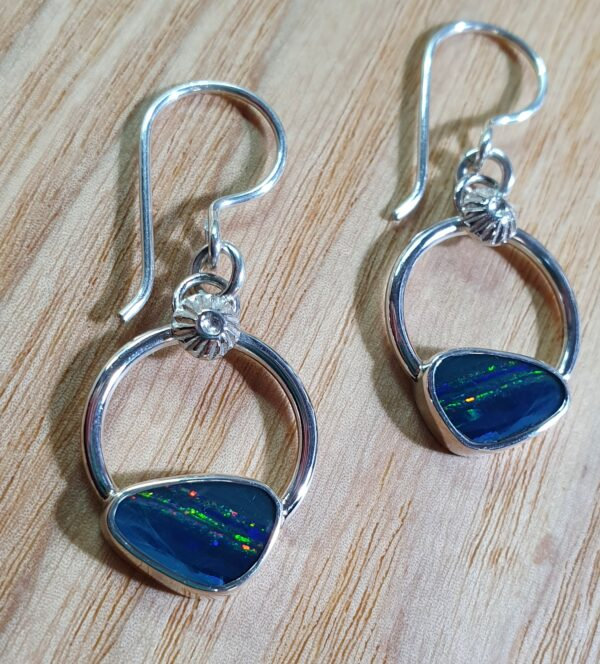circle-and-radiant-sterling-silver-and-opal-earrings-by-flying-lobster-jewellery-by-flyinglobster