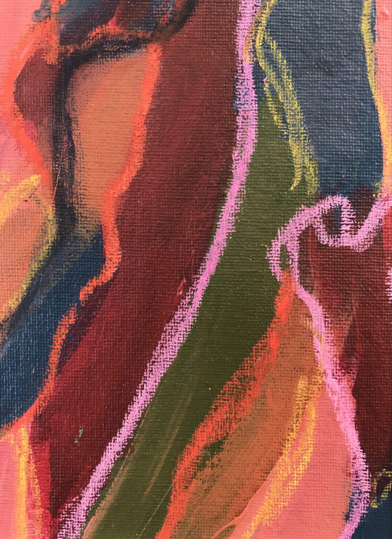 Colours Smash 2 – Mixed Media Original Artwork Set By Tish Willo Creative