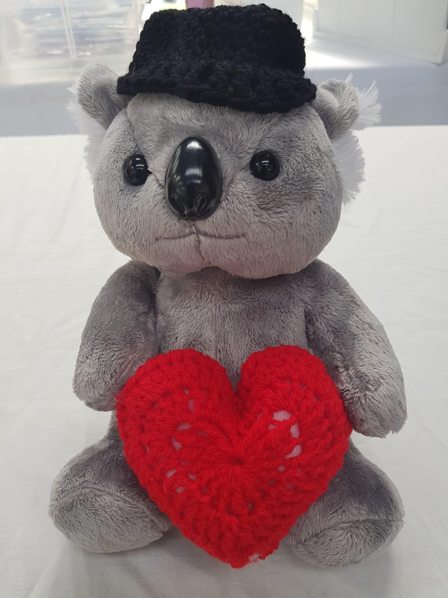 Koala Woth Heart By Bubbles And Gifts
