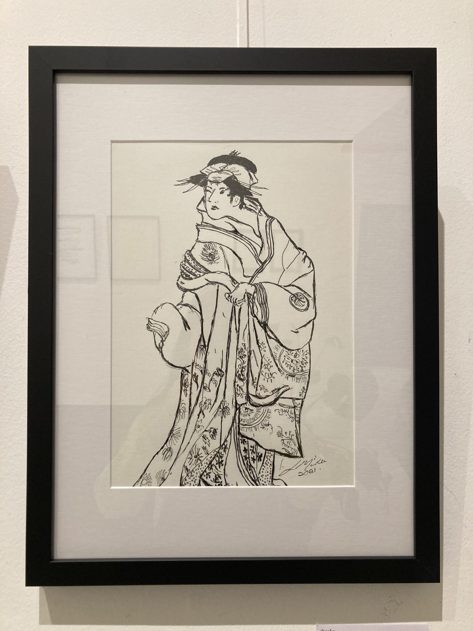 Naoko By Lesley Muller (Line Exhibition)