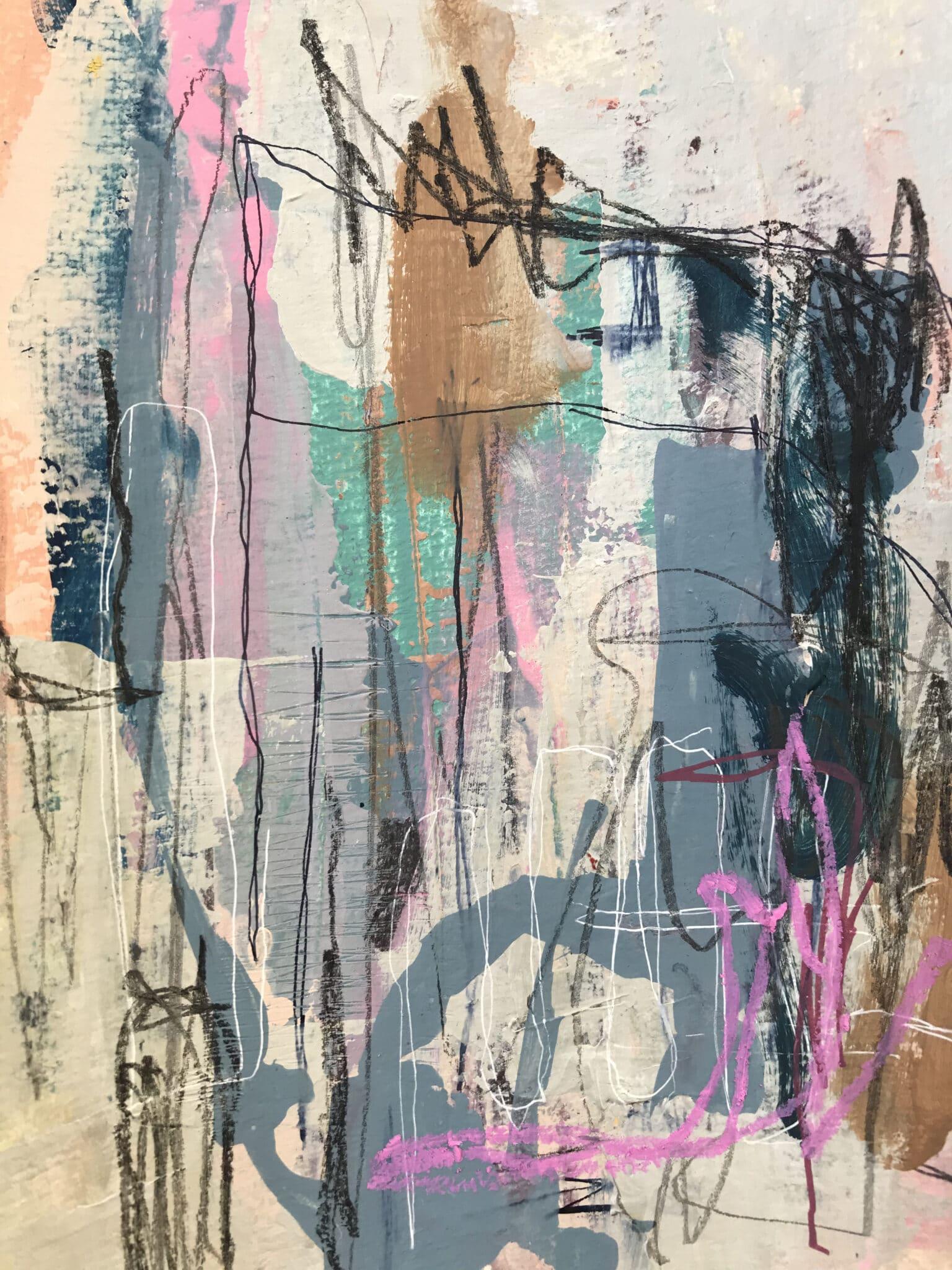 Somewhere In Ireland… By Tish Willo  (Line Exhibition)